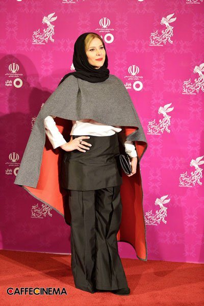 مدل لباس سحر دولت شاهی در سی و چهارمین جشنواره فیلم فجر