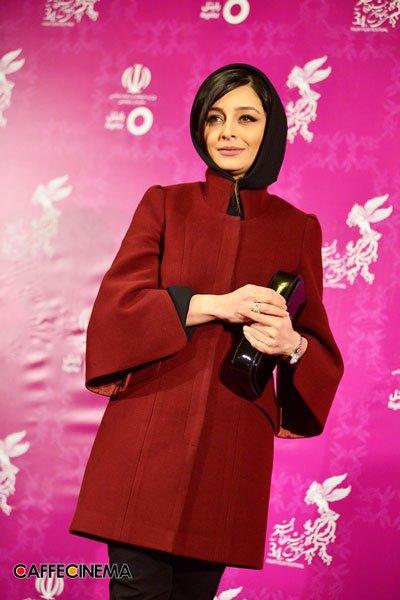 مدل لباس ساره بیات در سی و چهارمین جشنواره فیلم فجر