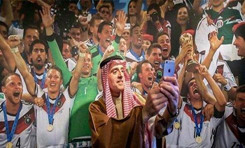 سلفی عجیب وزیر خارجه عربستان