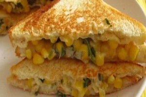 یک ساندویچ عالی برای تغذیه بچه های مدرسه ای!!