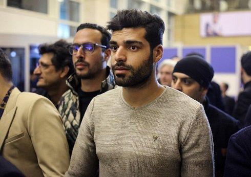 عکس مهدی طارمی در فرش قرمز جشنواره فیلم فجر