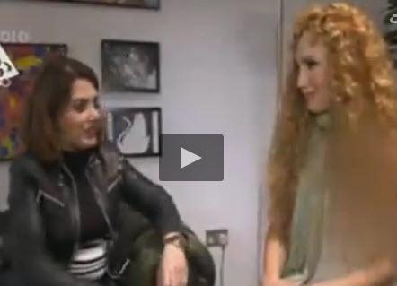 مصاحبه ناشیانه سالومه با سولماز، مهر تائید پشت پرده من و تو + فیلم