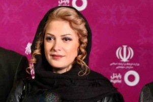 طناز طباطبایی با مدل موی جدیدش در افتتاحیه جشنواره فیلم فجر