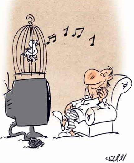بیشترین استفاده ای که مردم ایران از تلویزیون می کنند
