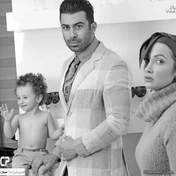 روناک یونسی و همسرش ، همسران بازیگران ، بازیگران ایرانی
