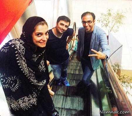 الیکا عبدالرزاقی و همسرش ، همسر سپهر حیدری ، نیوشا ضیغمی و همسرش
