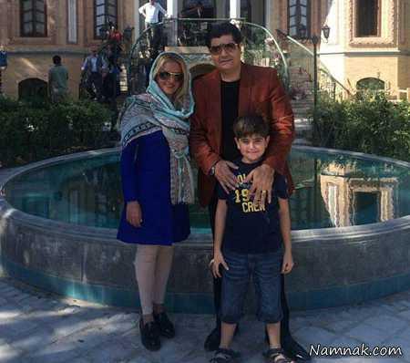 سالار عقیلی و همسرش  ، بازیگران ایرانی ، چهره های مشهور