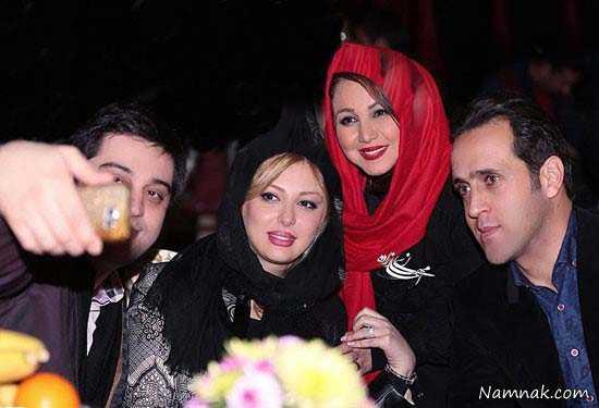 نیوشا ضیغمی و همسرش ، بازیگران معروف ، بازیگران و همسرانشان