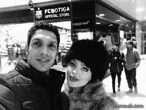 سپهر حیدری و همسرش  ، چهره های مشهور ، بازیگران معروف