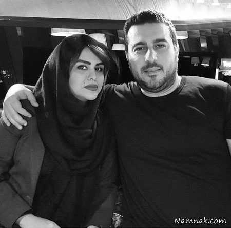 محسن کیایی و همسرش  ، همسر بازیگران ،  روناک یونسی و همسرش