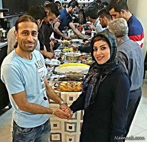 مهدی رجب زاده و همسرش ،  روناک یونسی و همسرش ، همسر سالار عقیلی
