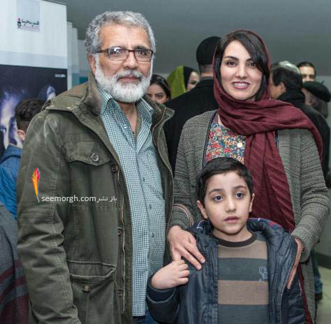 مرجان شیرمحمدی و همسرش بهروز افخمی