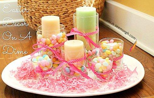 تخم مرغ های رنگی کوچک، ایده ای برای تزیین میزهای بهاری