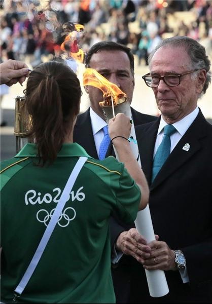 مشعل المپیک 2016 به برزیل رسید + عکس