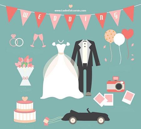 چند گام اساسی برای برگزاری تشریفات عروسی