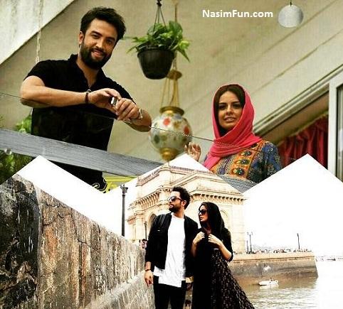 عکس مهاجرت بنیامین بهادری و همسرش شایلی به هند