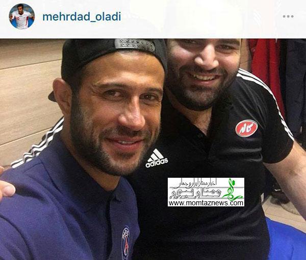 عکس آخرین پست مهرداد اولادی در اینستاگرامش، دیروز