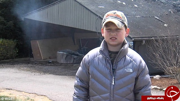 شجاعت پسر 10 ساله جان چهل نفر را نجات داد