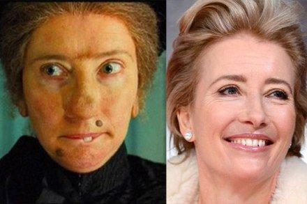 وقتی گریم صورت زیبای بازیگران زن را زشت میکند + تصاویر
