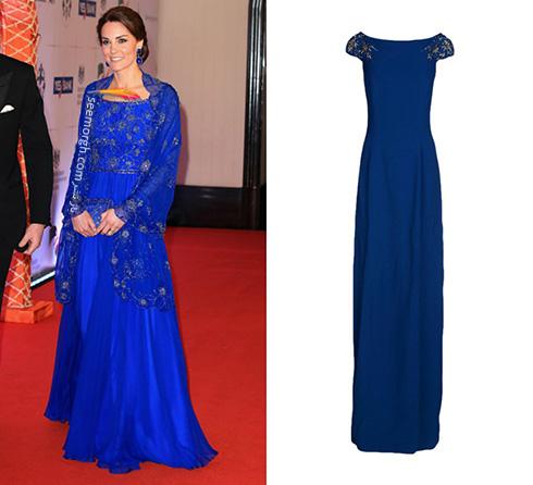 مدل لباس کیت میدلتون Kate Middleton در هندوستان - عکس شماره 5