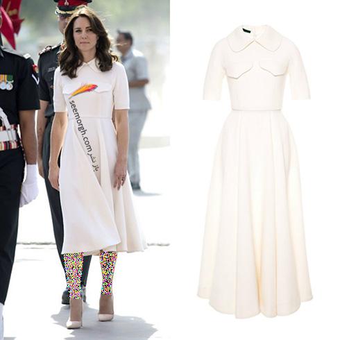 مدل لباس کیت میدلتون Kate Middleton در هندوستان - عکس شماره 7