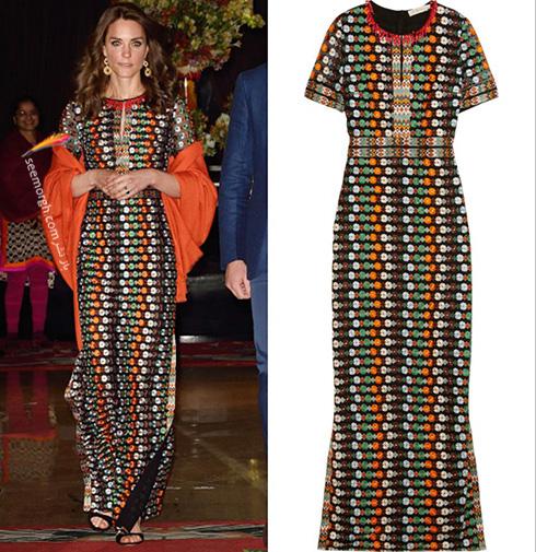 مدل لباس کیت میدلتون Kate Middleton در هندوستان - عکس شماره 8