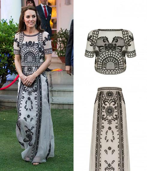 مدل لباس کیت میدلتون Kate Middleton در هندوستان - عکس شماره 9