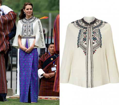 مدل لباس کیت میدلتون Kate Middleton در هندوستان - عکس شماره 10
