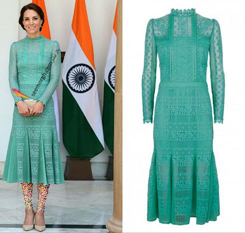 مدل لباس کیت میدلتون Kate Middleton در هندوستان - عکس شماره 11