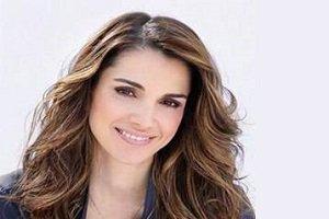 ملکه اردن در میان پناهجویان