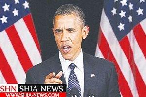سوتی عجیب شبکه عربستان موقع سخنرانی اوباما