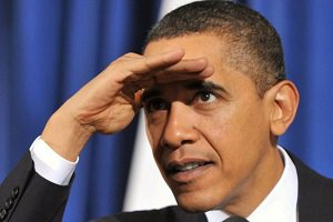 اوباما دنبال تاکسی برای رسیدن به پاستور!
