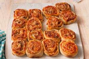 پیتزا تک نفره شیک و باکلاس را اینگونه درست کنید!!