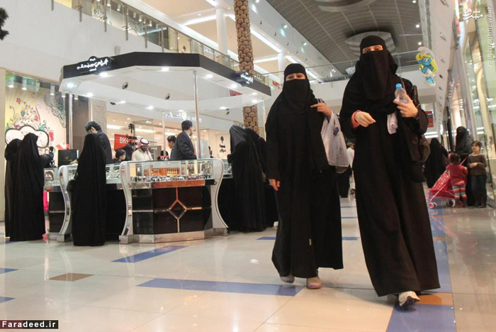 زندگی زنان در عربستان سعودی + عکس