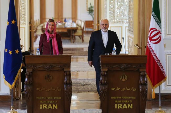 فدریکا موگرینی وارد تهران شد