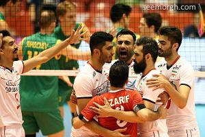 نتیجه دیدار والیبال ایران و کانادا در انتخابی المپیک