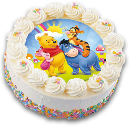 نمونه هایی زیبا از کیک تولد کودکان (عکس)