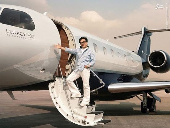 جت 20میلیون دلاری جکی چان