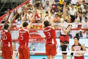 پیروزی والیبال ژاپن برابر ونزوئلا در انتخابی المپیک