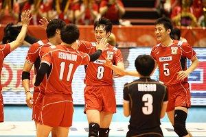 شکست والیبال ژاپن برابر چین در انتخابی المپیک