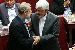 توییت عارف بعد از انتخاب رئیس مجلس