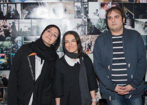 باران کوثری در جشن عکاسان سینما