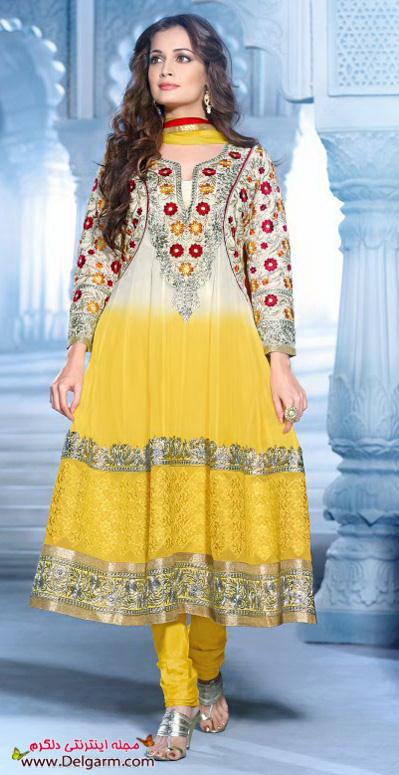 لباس هندی زنانه 2016