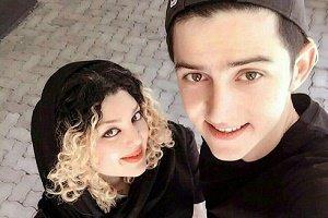 عکس سردار آزمون در کنار دختر شایسته روسیه
