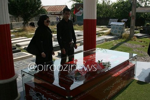 عکس علی علیپور و همسرش