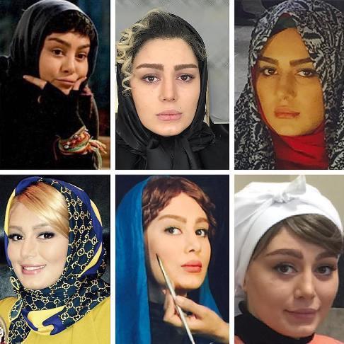 چهره های متفاوت و جالب سحر قریشی در ۶ نما