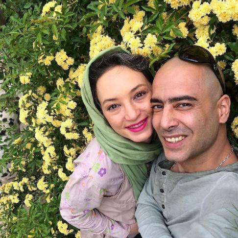 سحر ولدبیگی و همسرش نیما فلاح