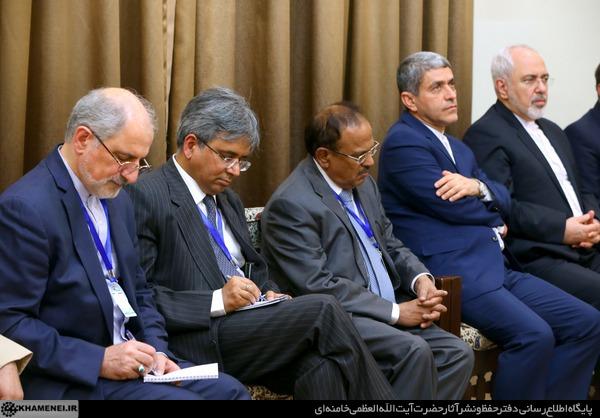 تصاویر:دیدار نخستوزیر هندوستان با رهبر انقلاب