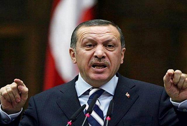 ژست دموکراسی و طنز سیاسی اردوغان