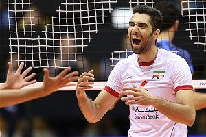 حضور موسوی در تیم رویایی والیبال جهان سال ۲۰۱۶